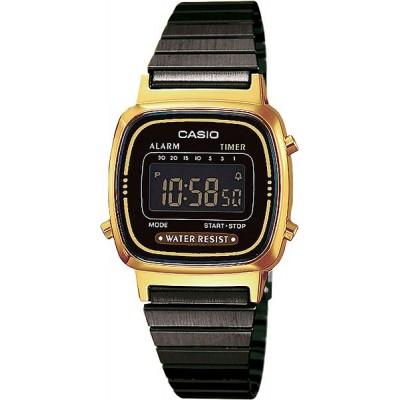 Zegarek CASIO LA670WEGB-1BEF Retro Classic