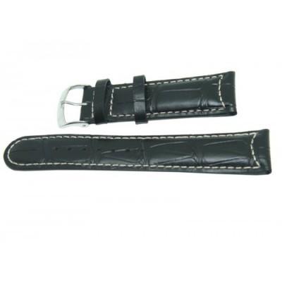 Pasek MORELLATO 22mm czarny, A01U3882A59019CR22