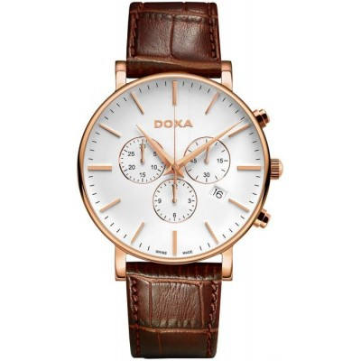 Zegarek DOXA D-Light Chronograph 172.90.011.02