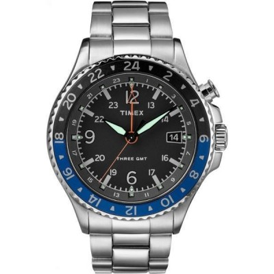 Zegarek TIMEX Allied Three GMT TW2R43500