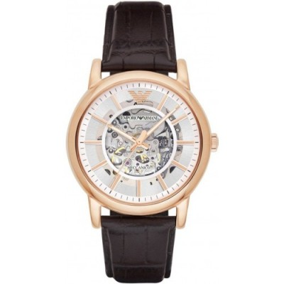 Zegarek EMPORIO ARMANI AR1983 Luigi skeleton automatic.
