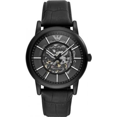 Zegarek EMPORIO ARMANI AR60008 Luigi Skeleton Automatic