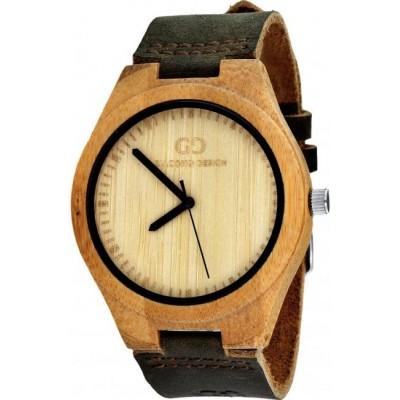 Zegarek GIACOMO DESIGN Legno Sul Bar GD08001