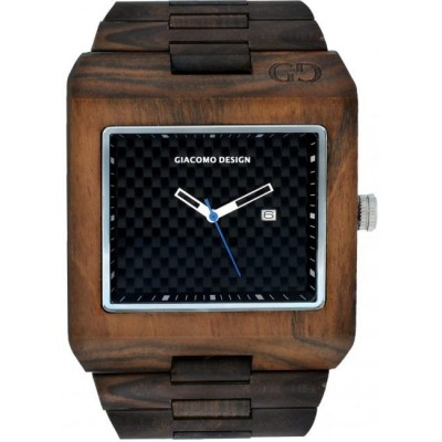 Zegarek GIACOMO DESIGN Quadarto Maschio GD08501