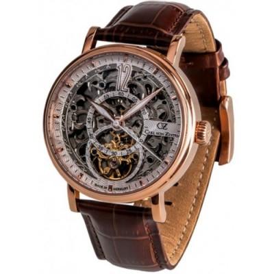 Zegarek CARL VON ZEYTEN CVZ0052RWH Gaggenau Automatic Skeleton Rose Gold PVD