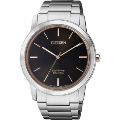 Zegarek CITIZEN Eco- Drive Titanium AW2024-81E
