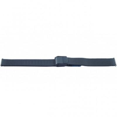 Bransoleta BISSET BM-101 mesh czarna 12mm