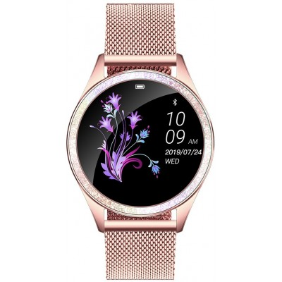 Smartwatch GINO ROSSI G.RSWBF2-4D2-2- ZESTAW + czarny pasek