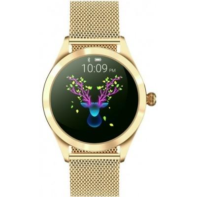 Smartwatch GINO ROSSI G.RSWBF1-4D1-1 - ZESTAW + biały pasek