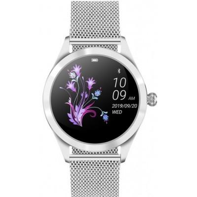 Smartwatch GINO ROSSI G.RSWBF1-3C1-2 ZESTAW - czarny pasek