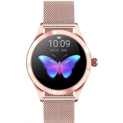 Smartwatch GINO ROSSI G.RSWBF1-4D2-1 - ZESTAW + biały pasek
