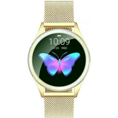 Smartwatch GINO ROSSI G.RSWBF2-4D1-2- ZESTAW+ czarny pasek