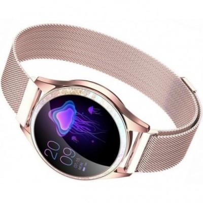 Smartwatch GINO ROSSI G.RSWBF2-4D2-1- ZESTAW + biały pasek