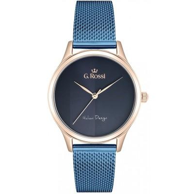 Zegarek GINO ROSSI G.R11765B-6F3 Azzurra Blue