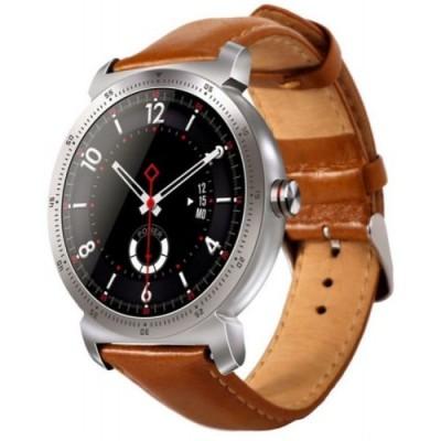 Smartwatch GARETT GT20S SREBRNY, SKÓRZANY