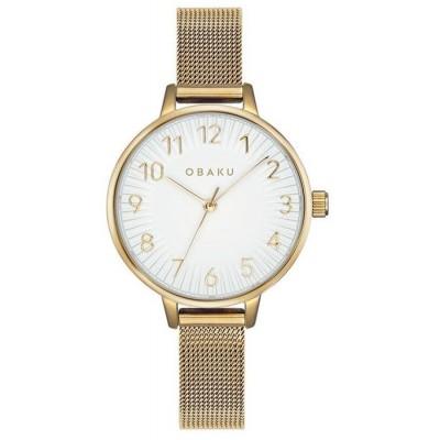 Zegarek OBAKU V237LXGIMG Syren Gold