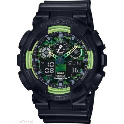 Zegarek CASIO G-SHOCK GA-100LY-1AER - OUTLET