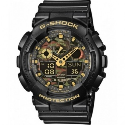 Zegarek CASIO G-SHOCK GA-100CF-1A9ER - OUTLET