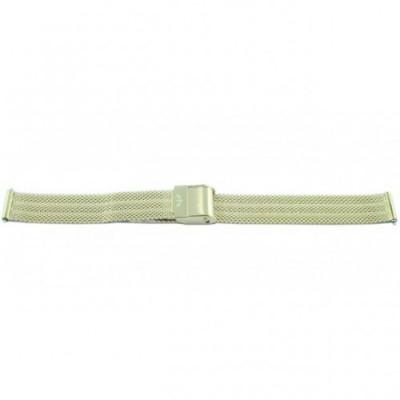 Bransoleta BISSET BM-108 mesh srebrna 14mm