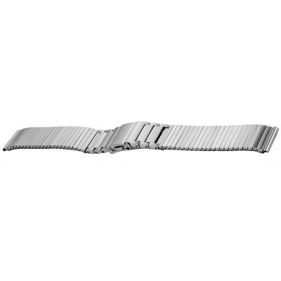 Bransoleta stalowa BISSET BM-106 srebrna 16mm