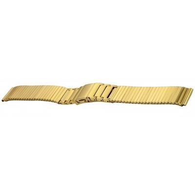 Bransoleta stalowa BISSET BM-106 złota 16mm