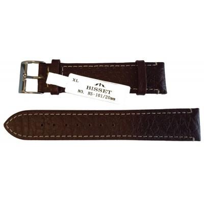 Pasek BISSET BS101 XL 20mm brązowy