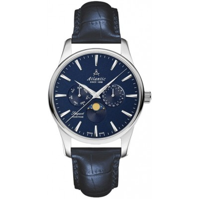 Zegarek ATLANTIC 56550.41.51 Seaport moon phase