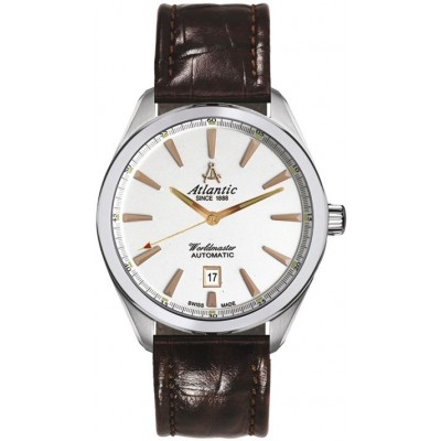 Zegarek ATLANTIC 53750.41.21R Worldmaster Automatic