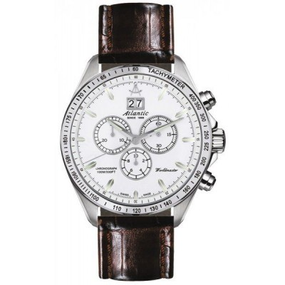 Zegarek ATLANTIC 55460.42.22 Worldmaster Chronograph
