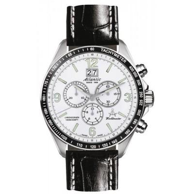 Zegarek ATLANTIC 55460.47.26 Worldmaster Chronograph
