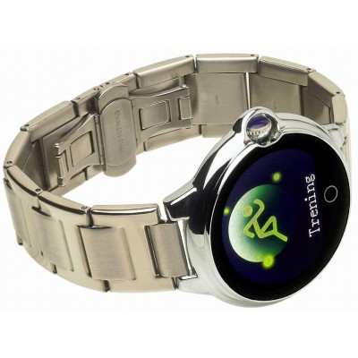 Smartwatch GARETT WOMEN KAREN RT SREBRNY