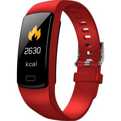 Smartband OPASKA GARETT FIT 16 RT czerwona