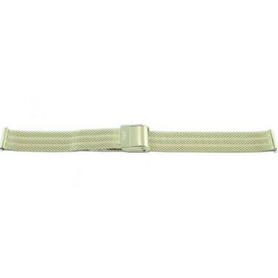 Bransoleta BISSET BM-103 mesh złota 18mm