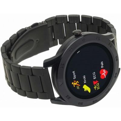 Smartwatch Garett GT22S czarny, stalowy