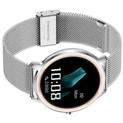 Smartwatch RUBICON RNBE66 SMARUB056 Srebrny