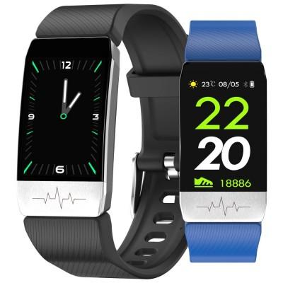 Smartwatch Rubicon RNCE60 czarny/niebieski
