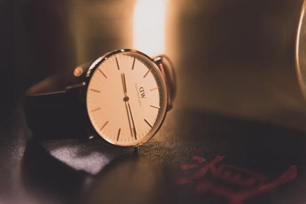 Zegarek Daniel Wellington - elementy zegarka naręcznego