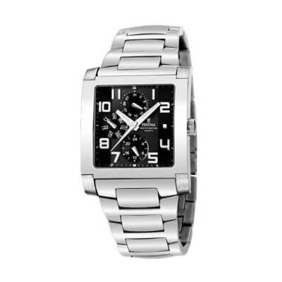 Zegarek męski Festina F16234/F na srebrnej bransolecie