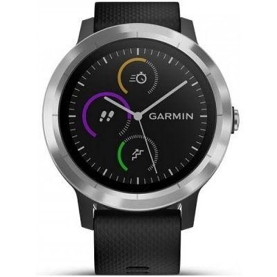 Jaki zegarek sportowy? Czarny zegarek GARMIN Vivoactive 3