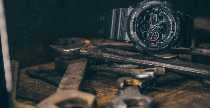 Jak ustawić zegarek Casio G Shock?